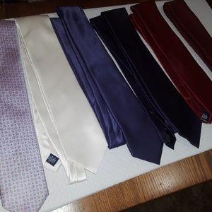 Formal wear neck ties(6 total)